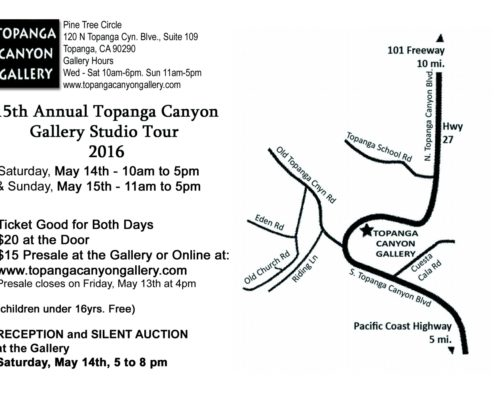 Topanga Canyon Gallery Studio